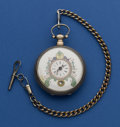 Timepieces:Pocket (pre 1900) , Chinese Market Mock Pendulum For Restoration. ...
