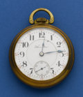 Timepieces:Pocket (post 1900), Hampden 940 - 21 Jewel 18 Size Pocket Watch. ...