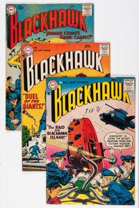 Blackhawk Group (DC, 1957-59) Condition: Average FN-.... (Total: 22 Comic Books)