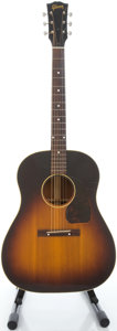 Musical Instruments:Acoustic Guitars, 1948 Gibson J-45 Sunburst Acoustic Guitar, Serial # 2699....