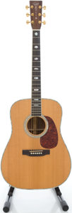 Musical Instruments:Acoustic Guitars, 1993 Martin D-41 Natural Acoustic Guitar, Serial # 526281....