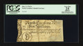 Colonial Notes:North Carolina, North Carolina March 9, 1754 5s PCGS Apparent Very Fine 25.. ...