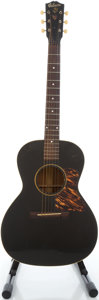 Musical Instruments:Acoustic Guitars, 1939 Gibson L-0 Black Acoustic Guitar, Serial # EG-2887....