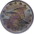 Patterns, 1855 P1C Flying Eagle Cent, Judd-168 Original, Pollock-193, R.4,PR64 Brown PCGS....
