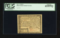 Colonial Notes:Rhode Island, Rhode Island July 2, 1780 $5 PCGS Gem New 65PPQ.. ...
