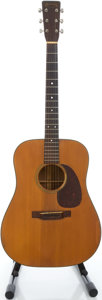 Musical Instruments:Acoustic Guitars, 1952 Martin D-18 Natural Acoustic Guitar, Serial # 125967...