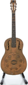 Musical Instruments:Resonator Guitars, 1930s National Duolian Resonator Guitar, Serial # 2190 W...