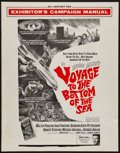 "Movie Posters:Adventure, Voyage to the Bottom of the Sea (20th Century Fox, 1961). UncutPressbook (20 Pages, 13"" X 16.5""). Adventure.. ..."