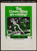 "Movie Posters:Science Fiction, The Green Slime (MGM, 1969). Uncut Pressbook (12 Pages, 12.25"" X17"") & Herald (8.5"" X 11""). Science Fiction.. ... (Total: 2Items)"