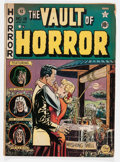 Golden Age (1938-1955):Horror, Vault of Horror #18 (EC, 1951) Condition: VG....
