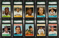 Baseball Cards:Lots, 1964 Topps Baseball Collection (59) With 10 SGC Graded Stars. ...