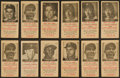 Baseball Cards:Lots, 1954 N.Y. Journal American Baseball Collection (27) With HoFers. ...