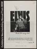 "Movie Posters:Elvis Presley, That's the Way It Is (MGM, 1971). Pressbook (12 Pages, 12"" X 16"").Elvis Presley.. ..."