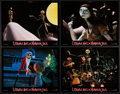 """Movie Posters:Fantasy, The Nightmare Before Christmas (Touchstone, 1993). French Lobby Cards (7) (8.75"""" X 11""""). Fantasy.. ... (Total: 7 Items)"""