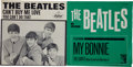 "Music Memorabilia:Recordings, Beatles ""Can't Buy Me Love""/ ""You Can't Do That"" 45 and RarePicture Sleeve (Capitol 5150, 1964).... (Total: 2 Items)"