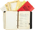 Music Memorabilia:Memorabilia, Elvis Presley's Personal Address/Phone Book....