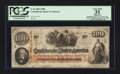 Confederate Notes:1862 Issues, T41 $100 1862 PF-25 Cr. 318A. Issued at Little Rock, AR.. ...