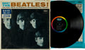Music Memorabilia:Recordings, Meet The Beatles Original Version One Mono LP (Capitol T2047, 1964)....