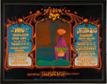 Music Memorabilia:Posters, Who/Creedence Clearwater Revival/Grateful Dead/Quicksilver Messenger Service Fillmore West Concert Poster BG-133 (Bill Graham,...