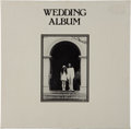 Music Memorabilia:Recordings, Beatles - John Lennon and Yoko Ono Wedding Album Sealed LP Box (Apple 3361, 1969)....