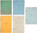 Movie/TV Memorabilia:Documents, A Hal Taliaferro Collection of Scripts, 1930s-1950s.... (Total: 5Items)
