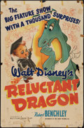 """Movie Posters:Animation, The Reluctant Dragon (RKO, 1941). One Sheet (27"""" X 41"""").Animation.. ..."""