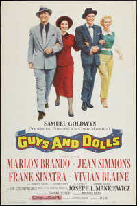 """Guys and Dolls (MGM, 1955). One Sheet (28"""" X 42""""). Musical"""