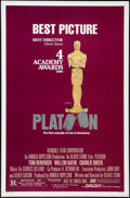 "Movie Posters:Academy Award Winners, Platoon & Other Lot (Orion, 1986). One Sheets (2) (27"" X 41"" & 27"" X 40""). SS Academy Award Style & DS Advance. Academy Awar... (Total: 2 Items)"