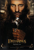 """Movie Posters:Fantasy, The Lord of the Rings: The Return of the King (New Line, 2003). One Sheet (27"""" X 40""""). DS Advance Aragon Style. Fantasy.. ..."""