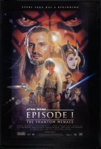 "Star Wars: Episode I - The Phantom Menace (20th Century Fox, 1999). One Sheet (27"" X 41""). Science Fiction..."