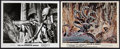 """Movie Posters:Fantasy, Ray Harryhausen Lot (Various, 1963 - 1981). Pressbook Materials (10) (Multiple Pages, 8.5"""" X 11"""" - 13.5"""" X 17.25"""") & Photos ... (Total: 12 Item)"""