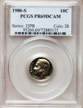 Proof Roosevelt Dimes: , 1980-S 10C PR69 Deep Cameo PCGS. PCGS Population (4927/170). NGCCensus: (410/51). Numismedia Wsl. Price for problem free ...