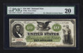 Large Size:Demand Notes, Fr. 6a $10 1861 Demand Note PMG Very Fine 20.. ...