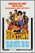 "Movie Posters:Blaxploitation, Bucktown (American International, 1975). One Sheet (27"" X 41"").Blaxploitation.. ..."