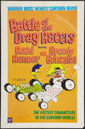 "Movie Posters:Animation, Battle of the Drag Racers featuring Road Runner vs Speedy Gonzales (Warner Brothers, 1966) One Sheet (27"" X 41""). Animation...."