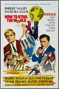 """Movie Posters:Adventure, How to Steal the World (MGM, 1968). One Sheet (27"""" X 41"""").Adventure.. ..."""