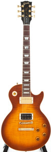Musical Instruments:Electric Guitars, 1996 Gibson Les Paul Standard Sunburst Solid Body Electric Guitar,#91376510....