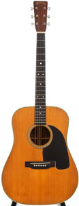 Musical Instruments:Acoustic Guitars, 1949 Martin D-28 Natural Acoustic Guitar, Serial # 112627....