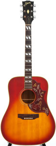 Musical Instruments:Acoustic Guitars, 1968 Gibson Hummingbird Sunburst Acoustic Guitar, Serial #921423....