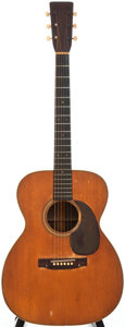 Musical Instruments:Acoustic Guitars, 1943 Martin 000-28 Natural Acoustic Guitar, Serial # 84856....