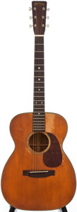 Musical Instruments:Acoustic Guitars, 1952 Martin 00-18 Natural Acoustic Guitar, Serial # 127346....