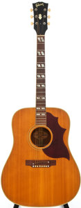Musical Instruments:Acoustic Guitars, 1968 Gibson Country Western Natural Acoustic Guitar, Serial #513827....