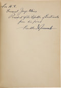 Autographs:U.S. Presidents, Franklin D. Roosevelt Signed and Inscribed First Spanish Edition ofVida del Pueblo Norteamericano as President....