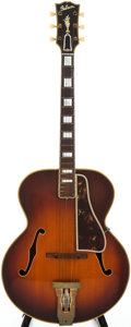 Musical Instruments:Acoustic Guitars, 1952 Gibson L5 Sunburst Archtop Acoustic Guitar, Serial # A1084....