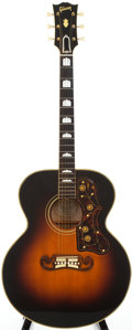 Musical Instruments:Acoustic Guitars, 1951 Gibson SJ-200 Sunburst Acoustic Guitar, Serial # A8415....