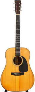 Musical Instruments:Acoustic Guitars, 1940 Martin D-28 Natural Acoustic Guitar, Serial # 76041....