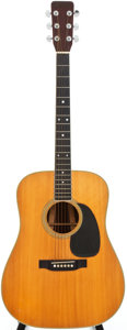 Musical Instruments:Acoustic Guitars, 1969 Martin D-35 Natural Acoustic Guitar, Serial # 243266....