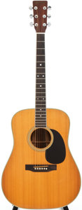 Musical Instruments:Acoustic Guitars, 1973 Martin D-35 Natural Acoustic Guitar, Serial # 329726....