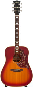 Musical Instruments:Acoustic Guitars, 1975 Gibson Hummingbird Sunburst Acoustic Guitar, Serial # 220053....