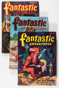 Pulps:Science Fiction, Fantastic Adventures Group (Ziff-Davis, 1947-52) Condition: AverageVG+.... (Total: 5 Comic Books)